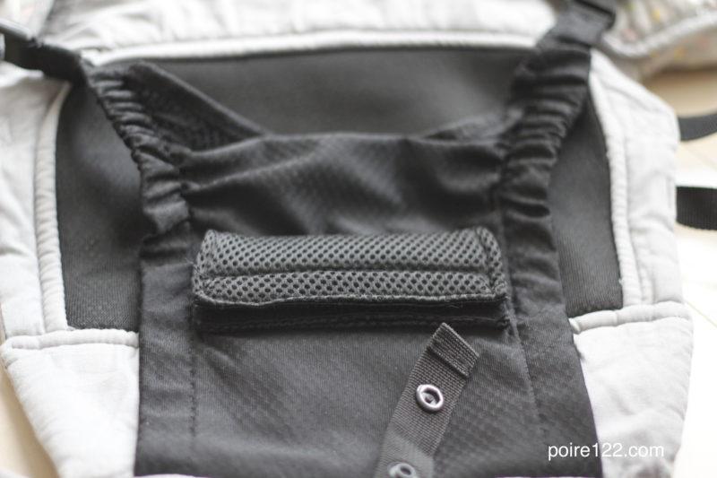 ナップナップ抱っこ紐の落下防止ベスト