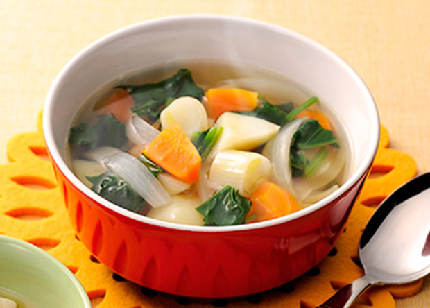 つわりで食べられない時は野菜スープ