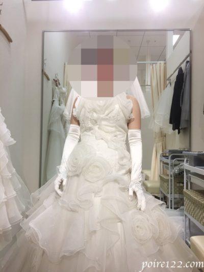他にも試着したウェディングドレス