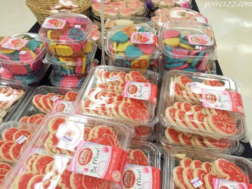 アメリカのスーパーに陳列しているお菓子