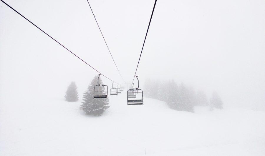 スキーのリフト