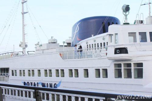 ロイヤルウィングの船