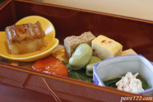 北大路の新宿茶寮の前菜