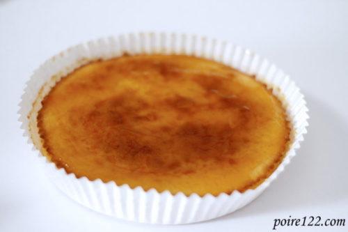 チーズケーキの完成