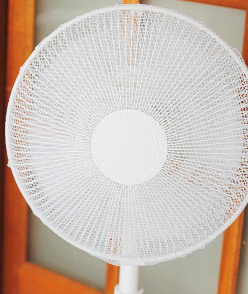 ユアサの扇風機YT3016Y-W