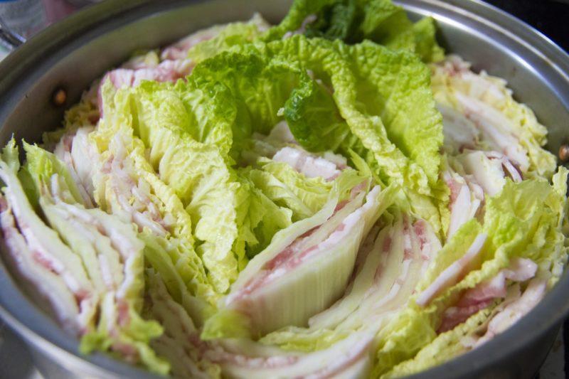 白菜の冷凍と保存方法
