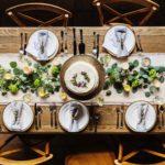 感謝祭のダイニングテーブル