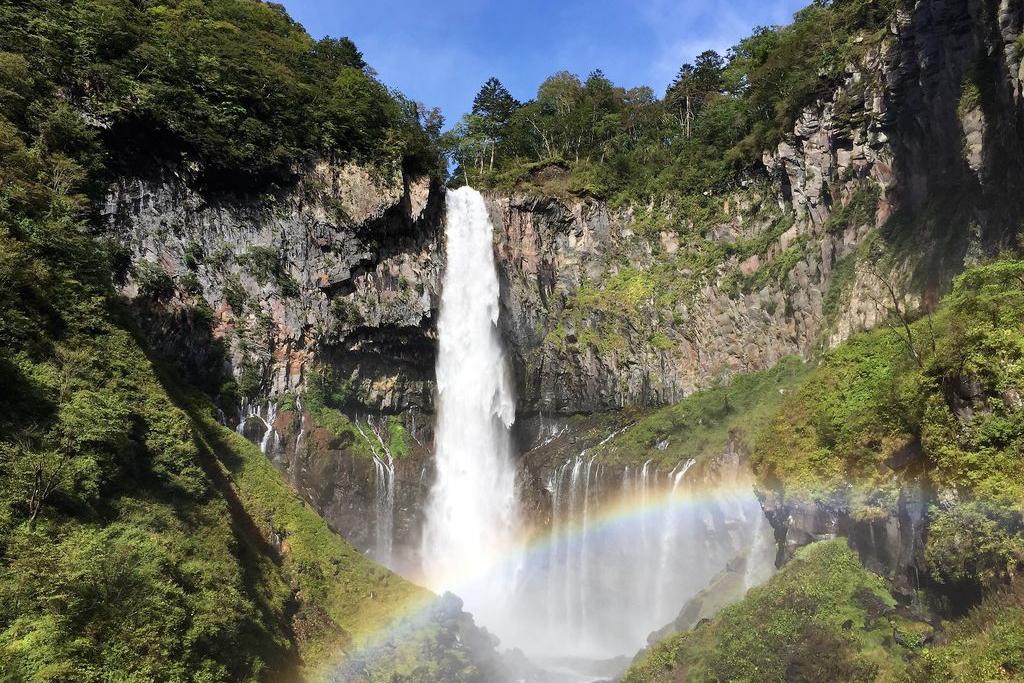 華厳の滝観光の所要時間・滞在時間・見所